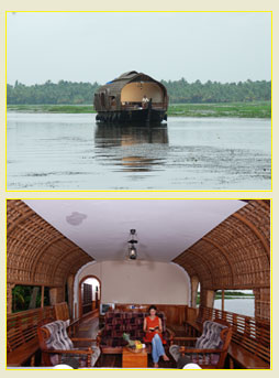On Houseboats: Kumarakom-Alappuzha Backwater Cruise